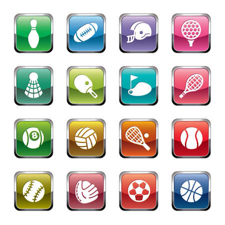 Sport Icons Zdjęcie Seryjne - 31479171