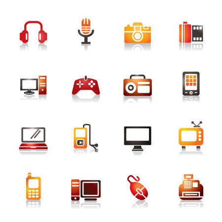 palmtop: Digital Products Colorful Icons