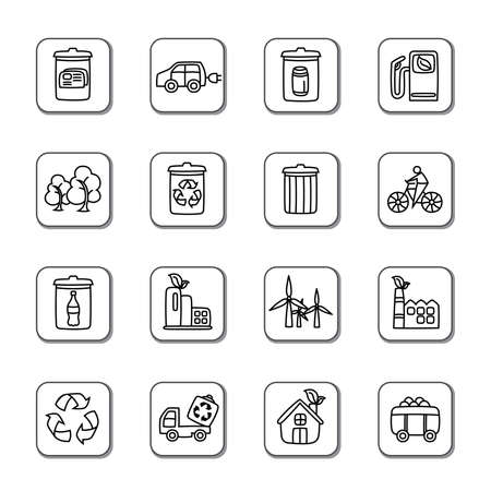 compost: Environmental Protection Icons