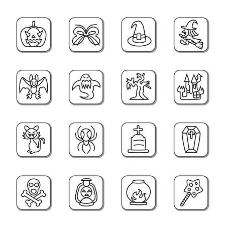 hallow: Halloween Doodle Icons