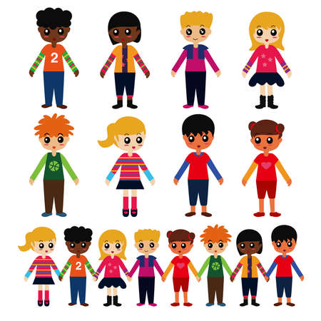 mixed race children: Multicultural Kids