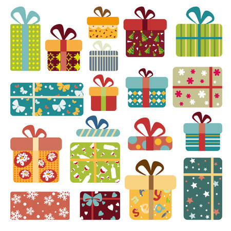 gift box: Colorful Gift Box Collection