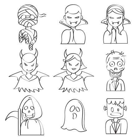 vlad: Halloween Characters