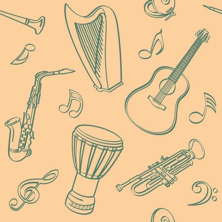 djembe: Musical Seamless Background