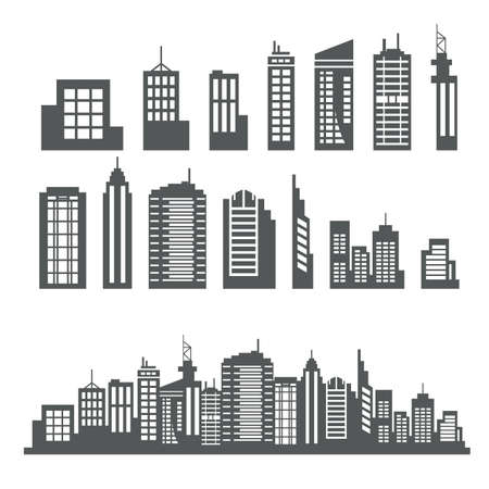 Building Collection Ilustracja