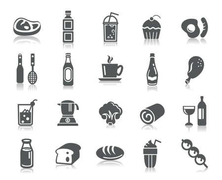 Eten en drinken Icons