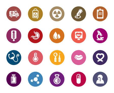 patients: Medical Color Icon