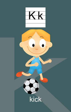 verb: Car�cter K Dibujos animados