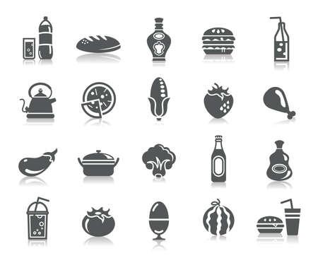 comida rapida: Alimentos y Bebidas Iconos