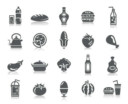 food art: Food and Drinks Icons