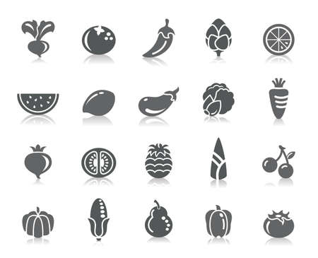 cherry tomato: Fruit and Vegetable Icons