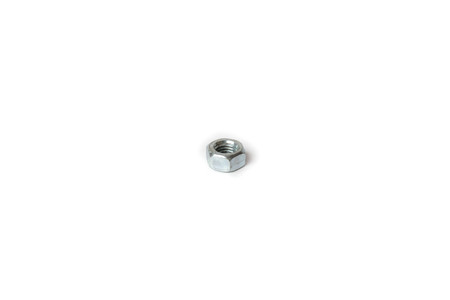 Female screw on white background