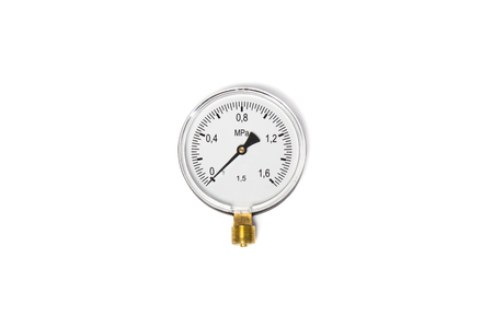 ware: Manometer isolated on white background. Object