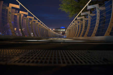 midlands: Milenium Walkway in Coventry City Centre, West Midlands