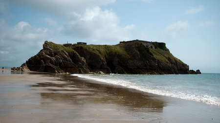 tenby wales: Tenby is a seaside town in Pembrokeshire, South West Wales Stock Photo