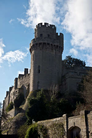 Warwick Castle is a medieval castle in the County of Warwickshire Editorial