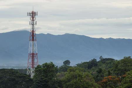 telephone: telephone tower