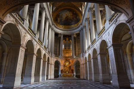 The Church of Palace of Versailles, Paris, France