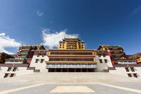 Magnificent Buddhist temple Zdjęcie Seryjne