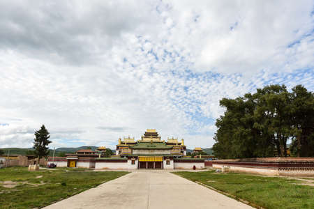 Majestic Tibetan Buddhist Temple