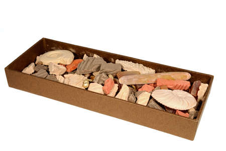 Decorative box of coloured ceramic fragments, can be used to release the scent of perfume into a room slowly, as an air freshener Stock Photo - 4379573