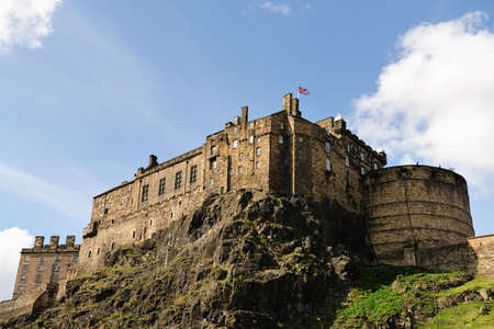 Edinburgh Castle, Scotland, UK, from the South