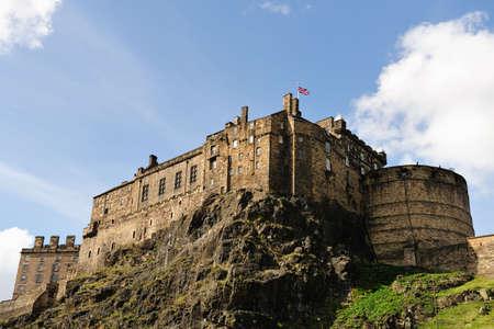Edinburgh Castle, Scotland, UK, from the South