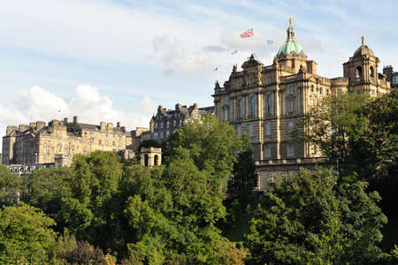 Headquarters of the Bank of Scotland, Edinburgh, Scotland, UK Stock Photo