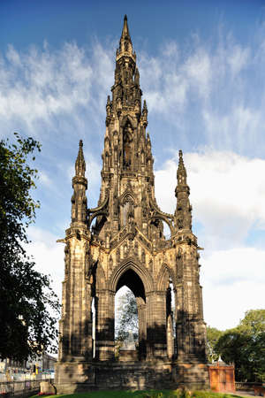 Scott Monument, Edinburgh, Scotland, UK Stock Photo - 5513815