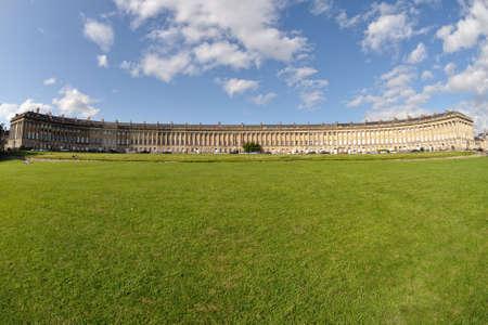 Royal Crescent, Bath, Somerset, England, UK Zdjęcie Seryjne
