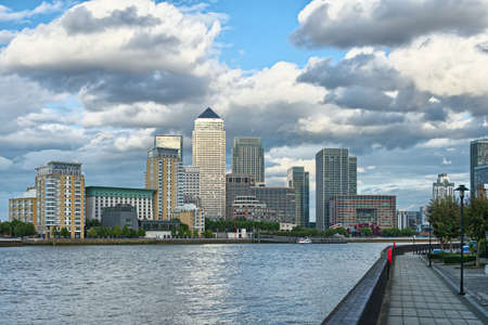 docklands: Canary Wharf, London Stock Photo
