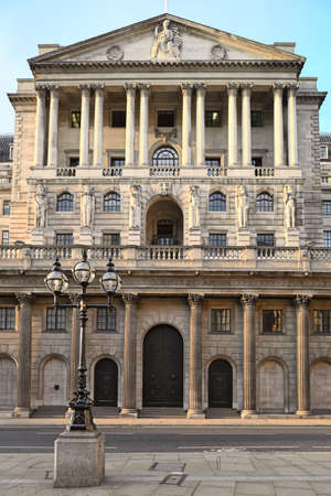 Bank of England, London, England, UK, Europe, in the late afternoon