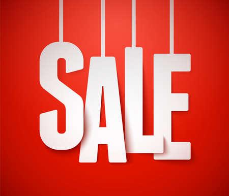 Sale background  Vector   Illustration