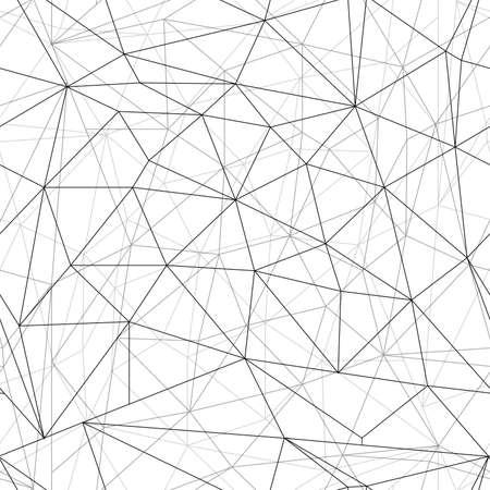 Abstract seamless geometric background illustration Illustration