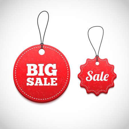 price: 3D Price tags illustration