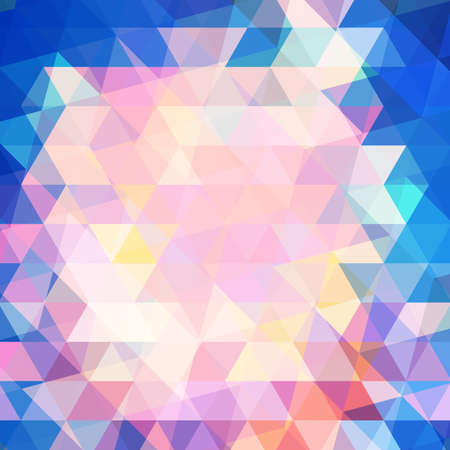 Colorful modern geometric background illustration Vector