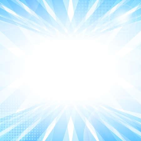 azul: Luz suave azul perspectiva Fundo abstrato. ilustra