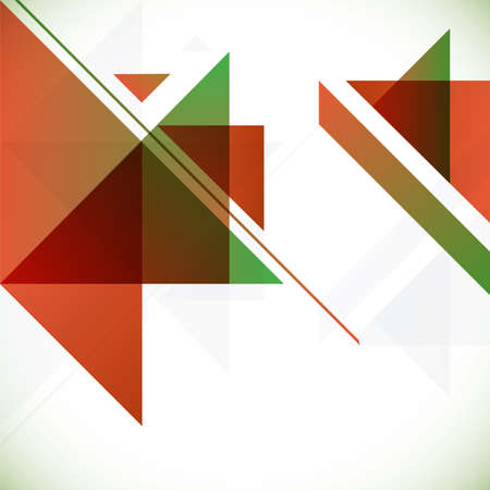 Abstract geometrical background with triangles and space for your message. Stock Vector - 22445413
