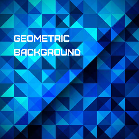 3D Abstract geometrical background vector illustration Stock Vector - 22445472