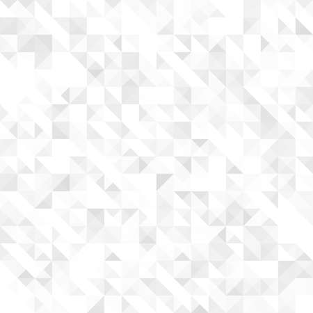 Gray geometric texture, seamless Vector illustration Illustration