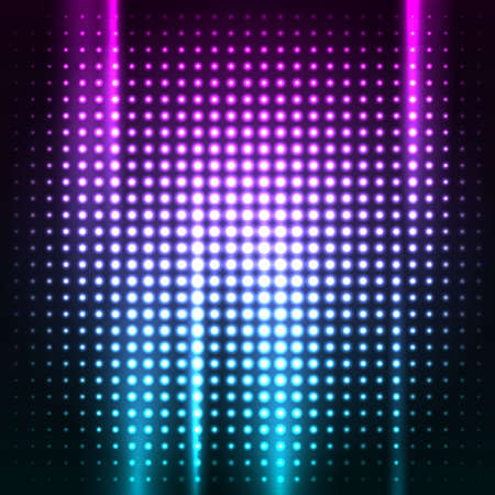 Abstract colorful disco club background vector illustration for you Illustration