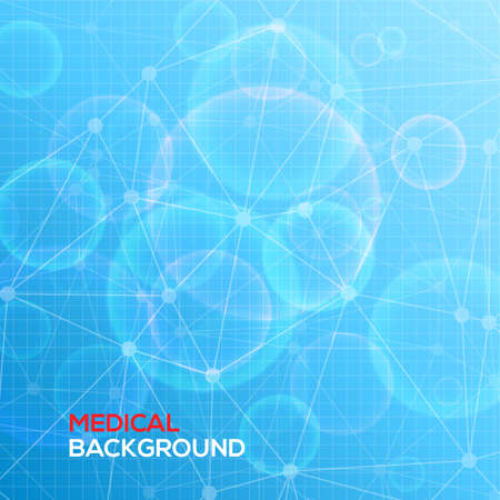 vector medical: Medical abstract background vector illustration for you