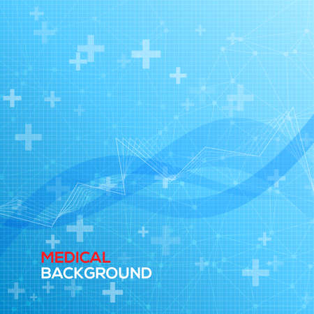 hospital sign: Abstract medical background vector illustration for you Illustration