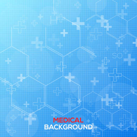 Abstract medical background vector illustration for you Vector