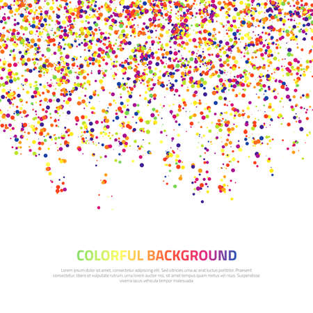 digital printing: Abstract colorful background. Vector illustration for your design.