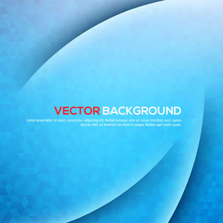 Abstract light and shadows vector background with triangles. Vector illustration for your design Illustration