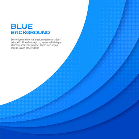 Abstract blue background. Vector illustration for your design Illustration