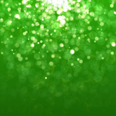 Green background with bokeh. Raster concept for your design Stock Photo - 24941672