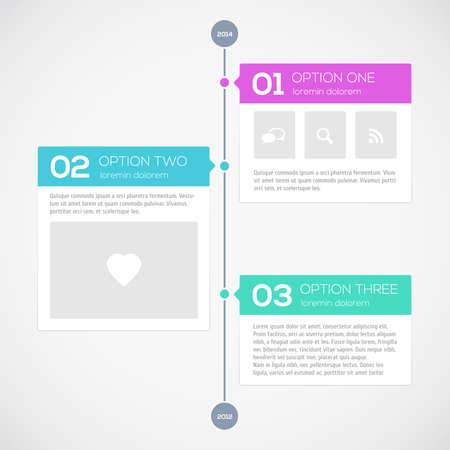 time line: Modern timeline design template. Vector illustration for your design