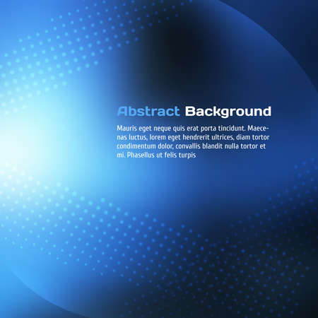 Abstract Blue Background Vector illustration for your design. Illustration